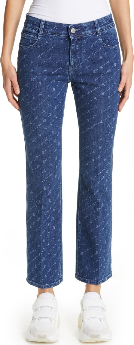 Stella McCartney The Skinny Kick Crop Flare Jeans