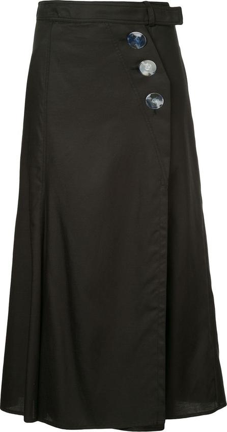 Christopher Esber Wrap a-line skirt