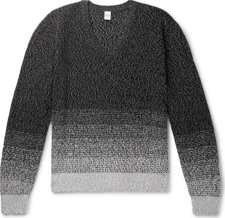 Berluti Cotton and Mulberry Silk-Blend Sweater