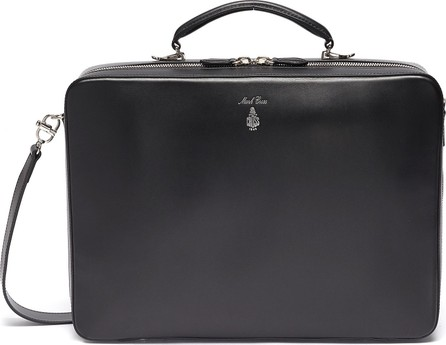 Mark Cross 'Baker Brief' in leather