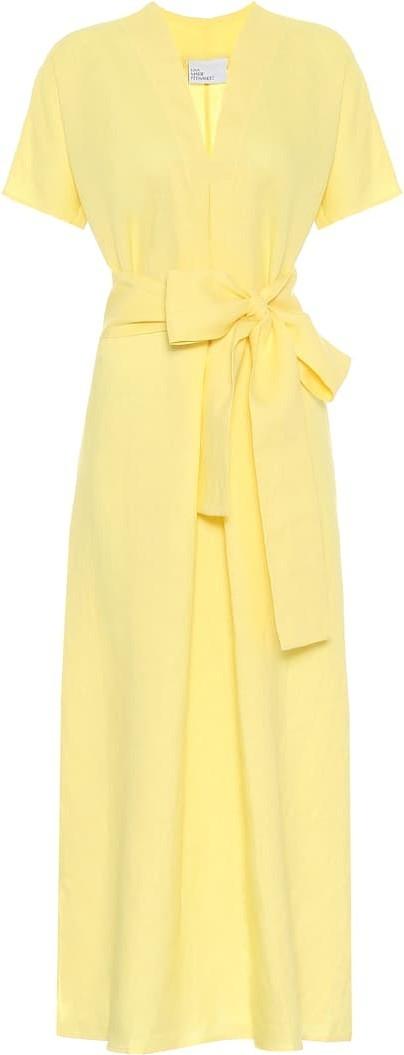 Lisa Marie Fernandez Rosetta linen maxi dress
