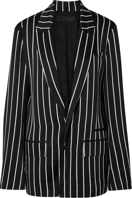 Haider Ackermann Striped satin blazer