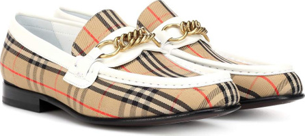 Burberry London England 1983 Check Link loafers