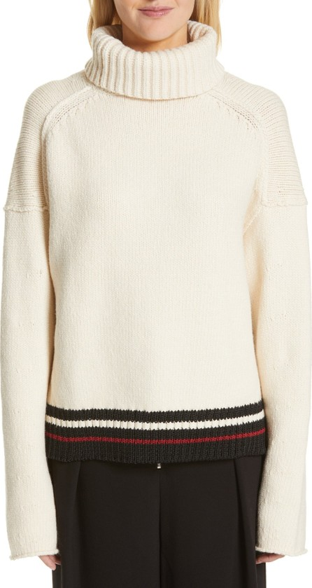 Proenza Schouler Stripe Turtleneck Sweater