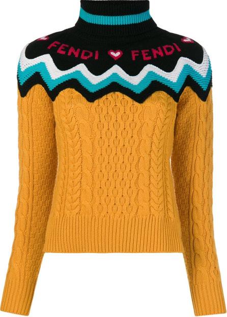 Fendi Knitted logo sweater
