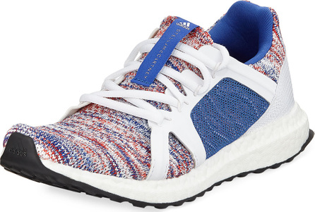 Adidas By Stella McCartney Ultra Boost Knit Trainer Sneakers, Blue/White
