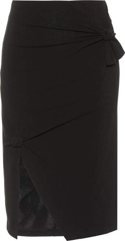Helmut Lang Cotton-jersey skirt