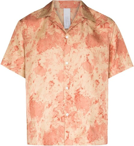Dashiel Brahmann Tie-dye silk shirt