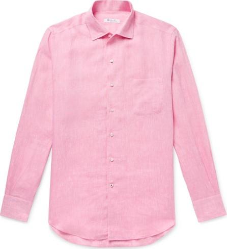 Loro Piana Andre Slub Linen Shirt