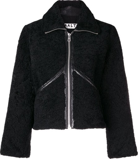 Aalto Shearling zip-up jacket