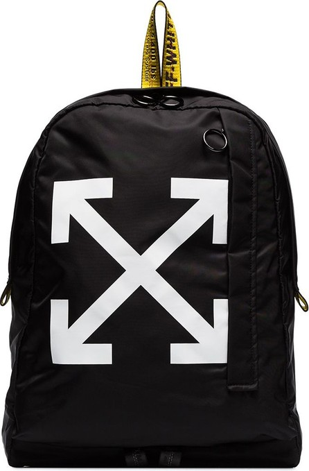 Off White Arrow print backpack
