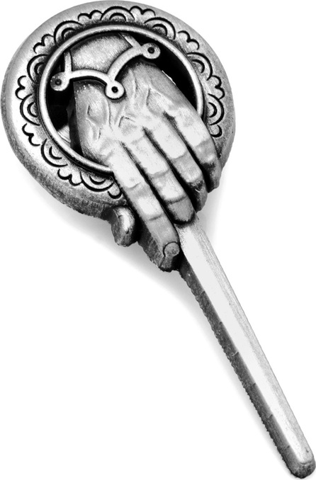 Cufflinks Inc. Game of Thrones Hand of the King Lapel Pin, Silvertone