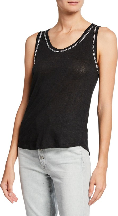Generation Love Taylor Sleeveless Tank with Chain Detail