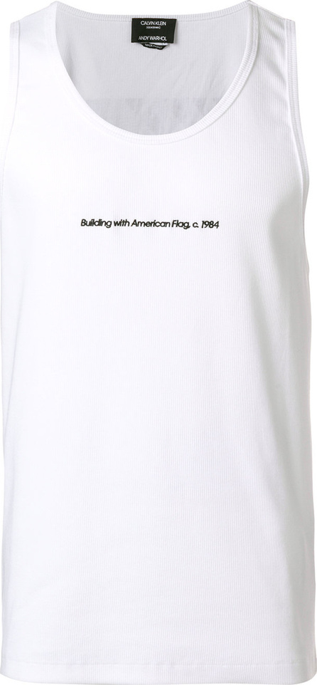 Calvin Klein 205W39NYC Slogan tank top