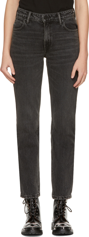 Alexander Wang Grey Cult Jeans