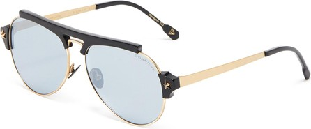 DonniEYE 'Courageux' Star bar aviator sunglasses
