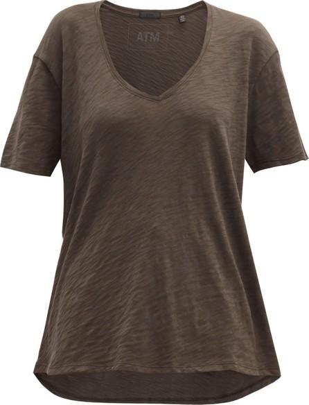 ATM Anthony Thomas Melillo V-neck cotton-jersey T-shirt