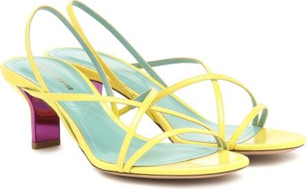 Nicholas Kirkwood Leeloo patent leather sandals
