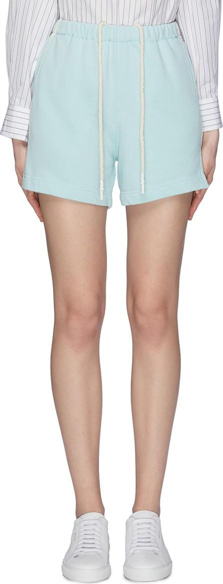 Bassike Stripe outseam sweat shorts