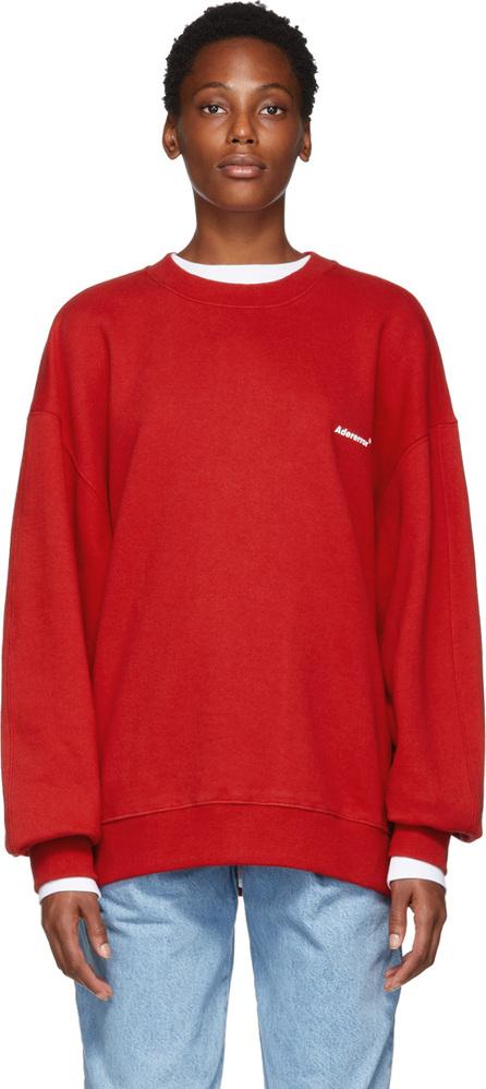 ADER error Red Basic Sweatshirt