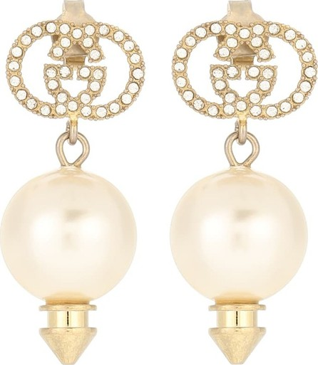 Gucci GG crystal-embellished earrings