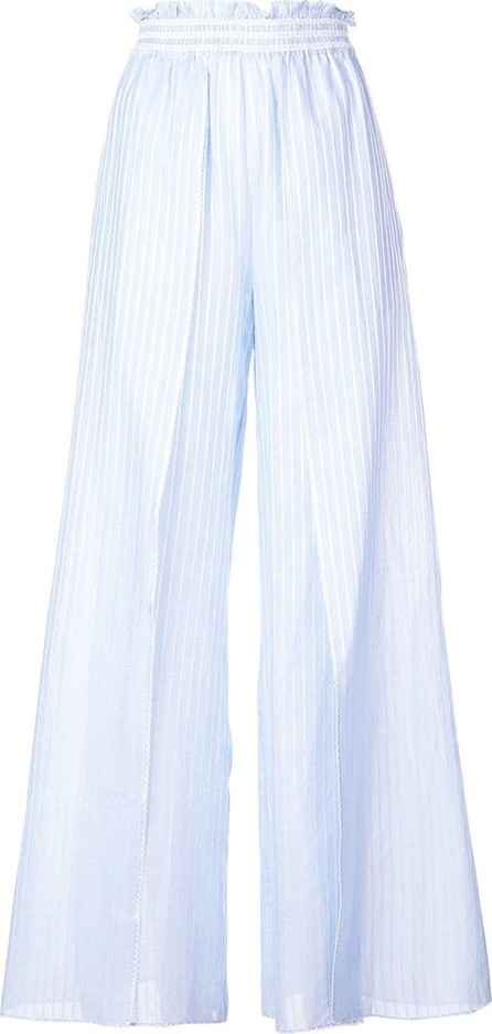 Jonathan Simkhai Striped fisherman trousers