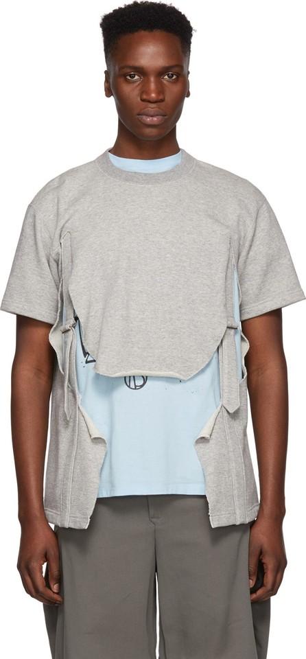 Comme Des Garçons Homme Plus Grey Pile Sweatshirt