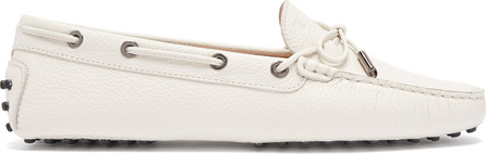 Tod's Gommini lace-up leather driving loafers