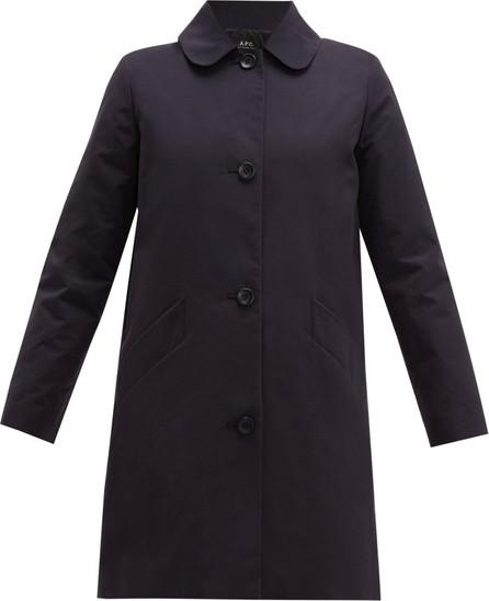A.P.C. Poupée cotton blend-gabardine coat