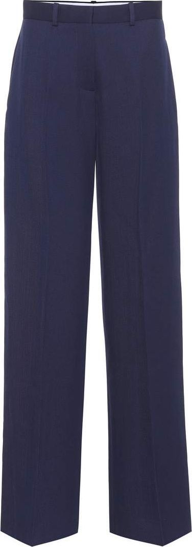 Victoria Beckham High-rise wool trousers