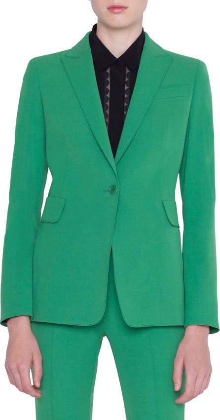 Akris Punto Gabardine One-Button Blazer