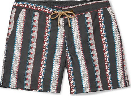 Thorsun Titan Mid-Length Printed Swim Shorts