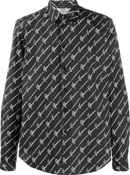 Versace GV signature print shirt
