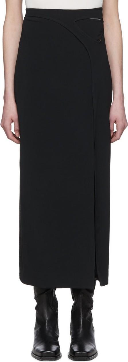 Dion Lee Black Interlock Skirt