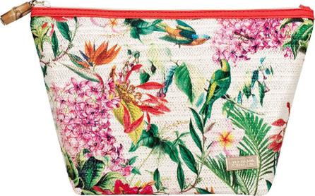 Stephanie Johnson Poppy Laura Large Trapezoid Cosmetic Bag
