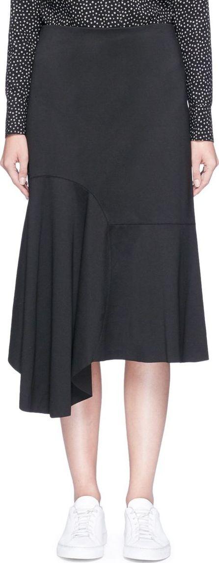 Bassike Asymmetric hem suiting skirt