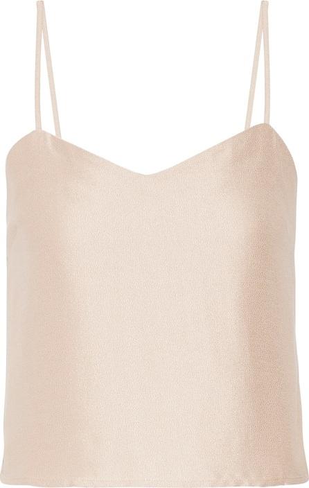 Barbara Casasola Silk-crepe camisole