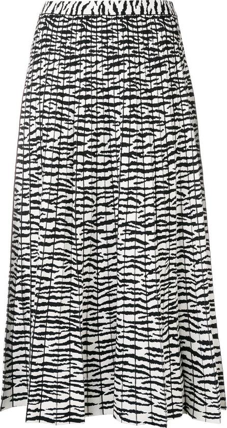 Proenza Schouler Pleated tiger print skirt