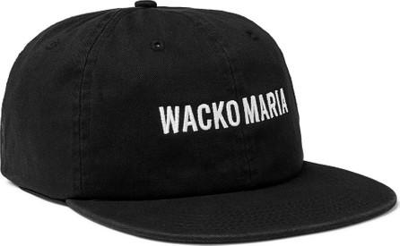 Wacko Maria Logo-Embroidered Cotton-Twill Baseball Cap