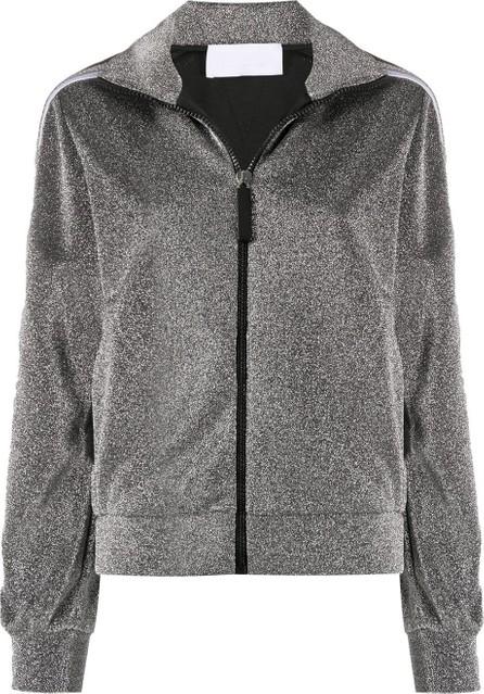 NO KA'OI Metallic knit jacket