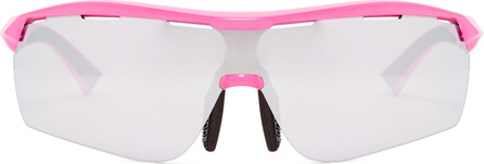 Stella McCartney Turbo Wrap rectangle-frame sunglasses