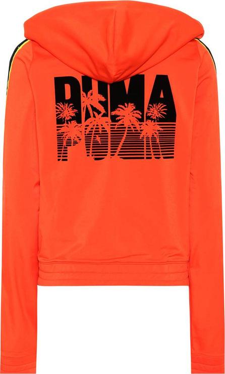 FENTY PUMA by Rihanna Printed zip-front hoodie