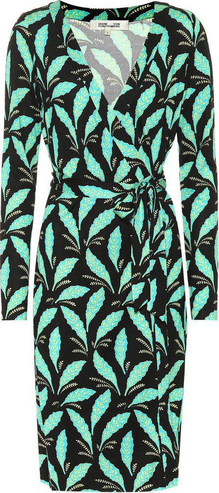 DIANE von FURSTENBERG Julian printed silk wrap dress