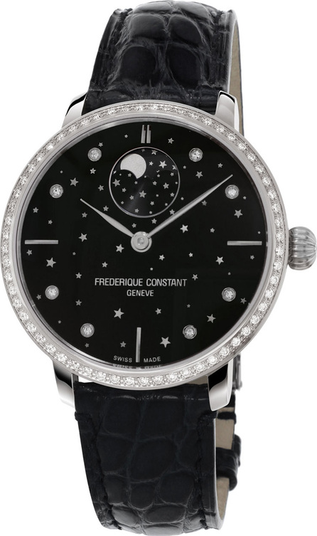 Frederique Constant 38.8mm Manufacture Slimline Moonphase Watch