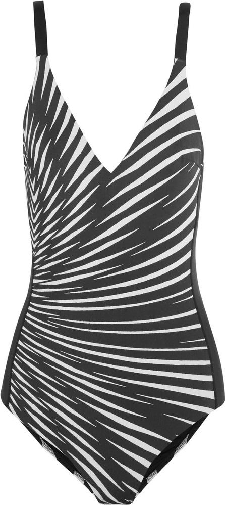 La Perla Op-Art printed swimsuit