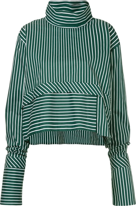 Anouki Striped oversized blouse