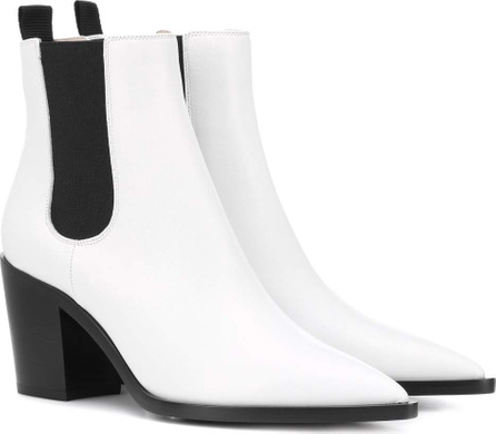 Gianvito Rossi Austin leather Chelsea boots