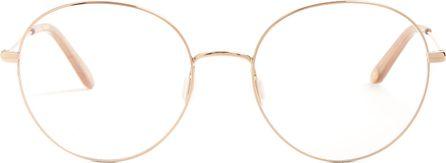 GARRETT LEIGHT Valencia 54 round-frame glasses