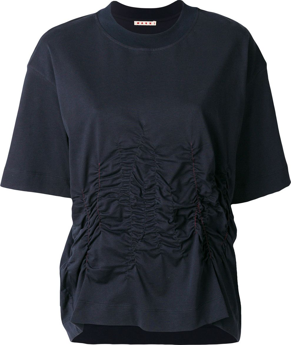 Marni - ruched jersey top
