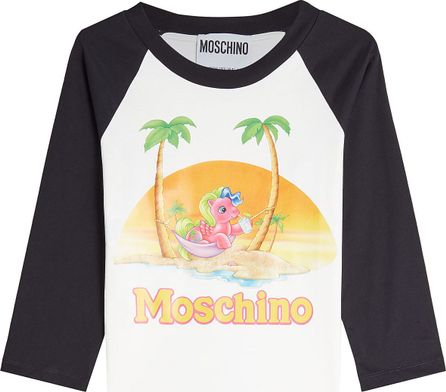 Moschino Little Pony Printed Cotton Top